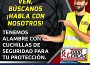 CONCERTINA PARA PROTECCIÓN PERIMETRAL GALVANIZADA