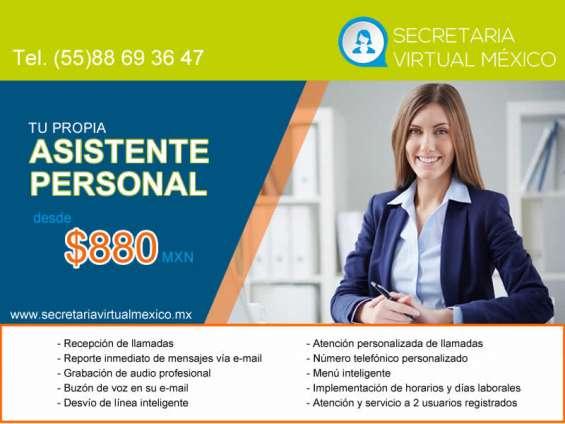 Asistente personal desde $ 880 al mes
