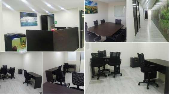 Alquiler de oficinas amuebladas