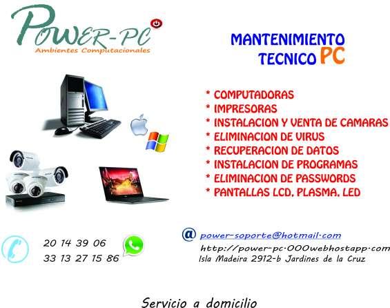 Servicio y reparacion de impresoras