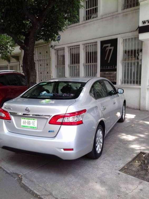 Nissan sentra 2015, c/aire, 4 pasajeros