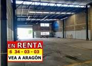 RENTAMOS EXTRAORDINARIA BODEGA 535 MTS2 EN LA MESA