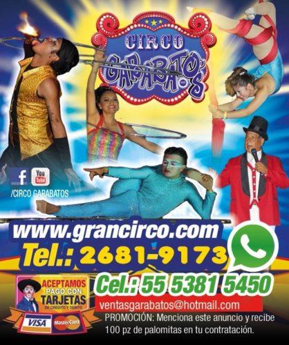 Performance de circo en tus eventos
