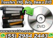 *TRANSFERS VHS, BETA y 8mm a DVD/MP4*